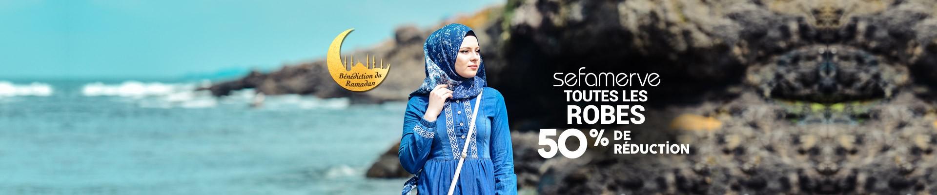 50% de Réduction sur Toutes les Robes Sefamerve
