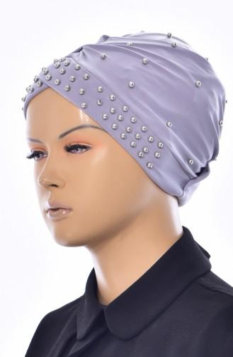 Bonnet Perlés Croisé 0020-03 Gris 0020-03