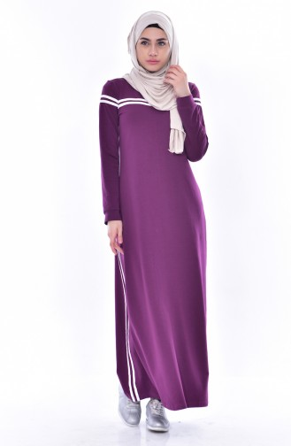 BWEST Banded Sports Dress 8161-03 Plum 8161-03