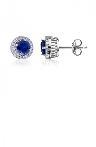 Navy Blue Earring 20624