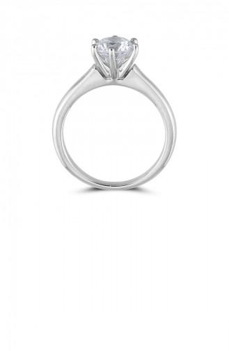 Silver Gray Ring 20757