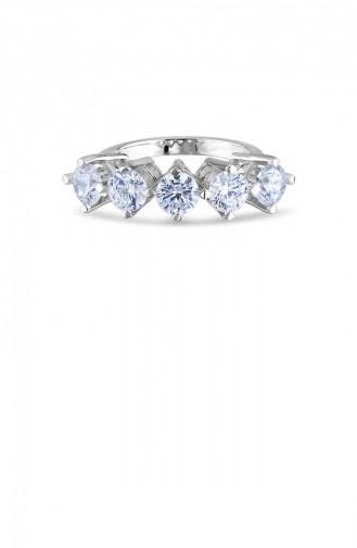 Silver Gray Ring 20792