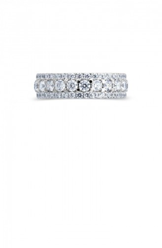 Silver Gray Ring 20731