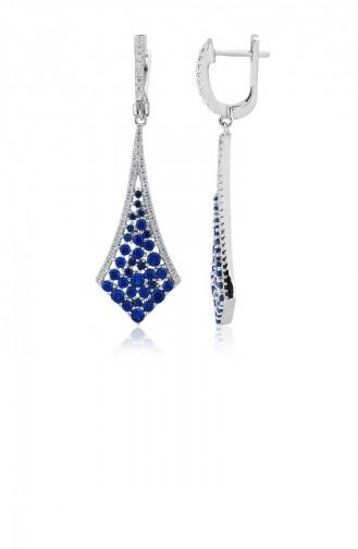 Blue Earring 21060