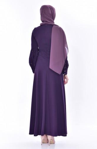Purple İslamitische Jurk 0529-03