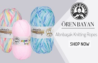 Ören Bayan Altınbaşak Knitting Ropes