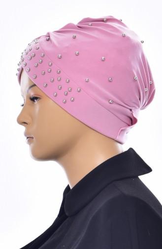 Bonnet Perlés Croisé 0020-12 Poudre 0020-12