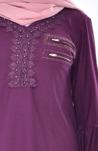 Purple Blouse 1019-01