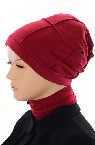 Bonnet a Carreaux 20001-03 Bordeaux 002-03
