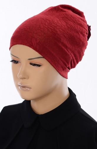 Bonnet Jacquard 036-02 Bordeaux 036-02
