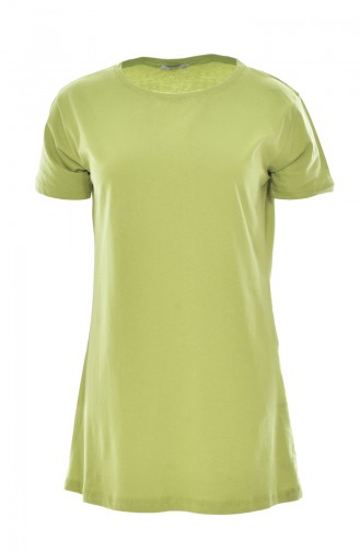 Basic T-Shirt 18057-08 Pistachio green 18057-08