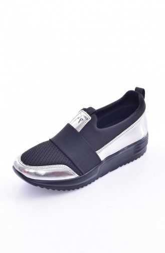 Black Casual Shoes 0785-02
