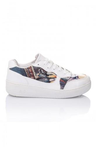 Chaussures Sport Pour Femme 7026-Art Pourpre a Motifs 7026-Art