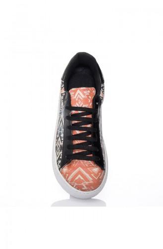 Chaussure Sport Pour Femme 7028-Boju Noir Motifs 7028-Boju