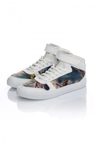 Chaussure Sport Pour Femme 7030-Art Pourpre Motifs 7030-Art