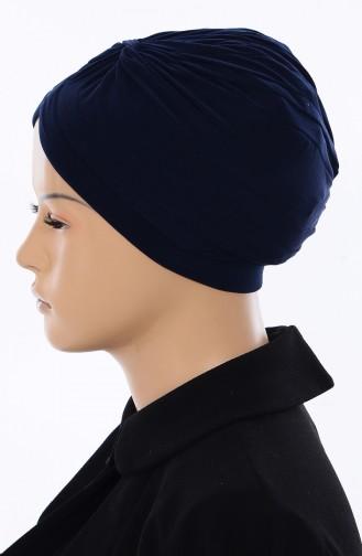 Bonnet İndien 046-02 Bleu Marine 046-02