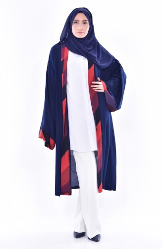 Navy Blue Cape 1507-02