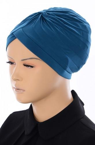 Bonnet Indien 046-06 Vert Pétrole 046-06
