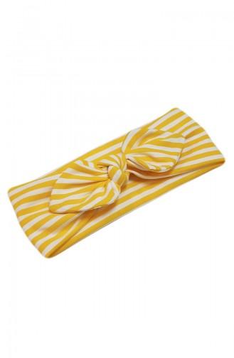 القبعات والباندانا أصفر 084