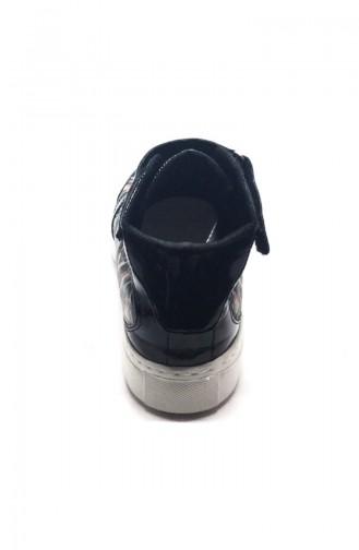 Chaussure Sport Pour Femme 7030-Boju Noir Motifs 7030-Boju