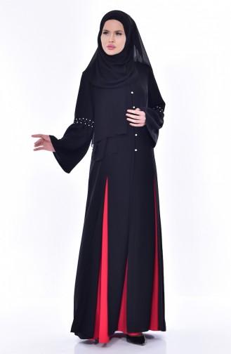 Longue Veste Robe 1817032-205 Noir 1817032-205