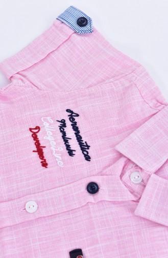 Kids Shirts 1805-03 Pink 1805-03