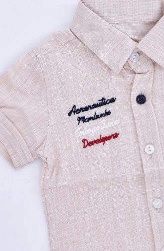قميص أطفال 1805-04 لون بيج 1805-04