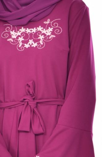 Robe Bordée 9240-04 Plum 9240-04