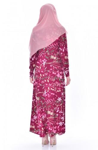 Purple Dress 4124A-01