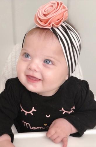 Baby und Kind Blume Accessoire Haarband  NBA249 Schwarz 249