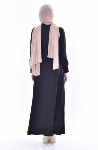 Tasseled Dress 1087-07 Black 1087-07