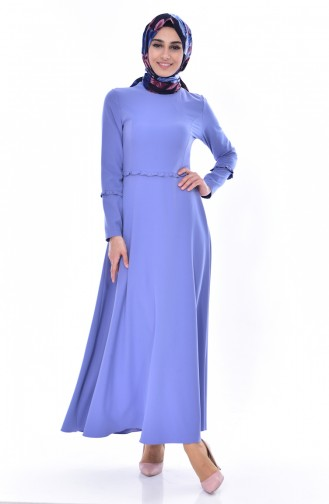 Hijab Kleid 1086-02 Blau 1086-02