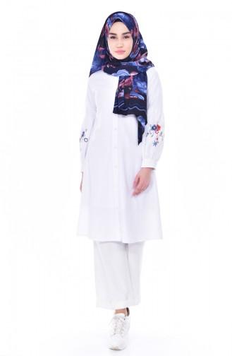 White Tunic 1229-01
