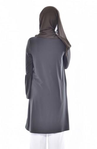 Spanish Sleeve Buttoned Tunic 3828-03 Khaki 3828-03