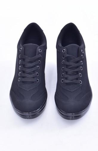 Black Sport Shoes 0105-03