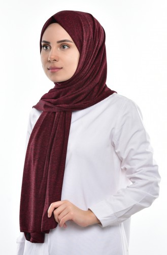 Claret red Shawl 120A