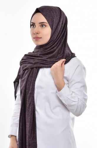 Sefamerve Sedef Schal aus Gekämmte Baumwoll SEDEFSF-116A Lila 116A