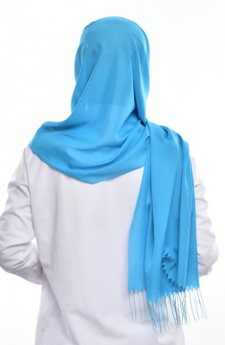 Schal 901291-15 Blau 15