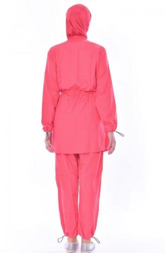 Maillot Hijab 2011-04 Corail 2011-04