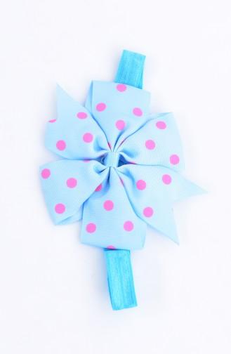 Bandana a Pointillé 0082-06 Turquoise 0082-06
