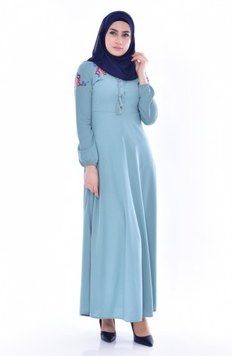 Green Dress 0522-05