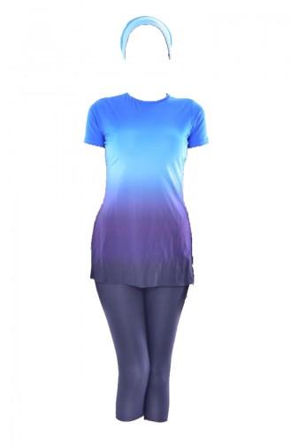 Yarım Kol Mayo 1009-01 Mavi Lacivert