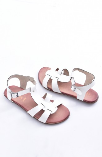 Lady Sandals 50252-01 White 50252-01