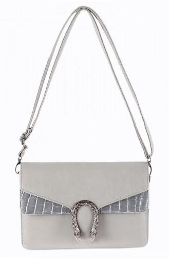 Gray Shoulder Bags 42113-18
