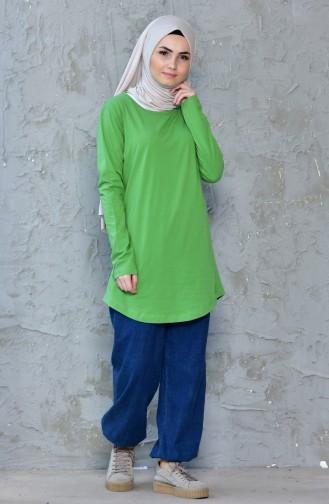 Body Basic 18059-19 Vert Khaki Clair 18059-19