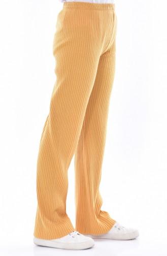 Pantalon Large 1991-05 Moutarde 1991-05