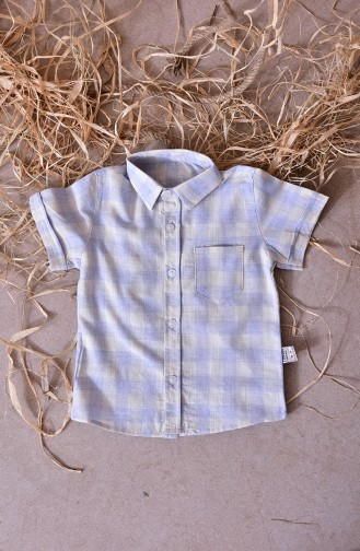 Kids Shirt 1812-01 Blue 1812-01