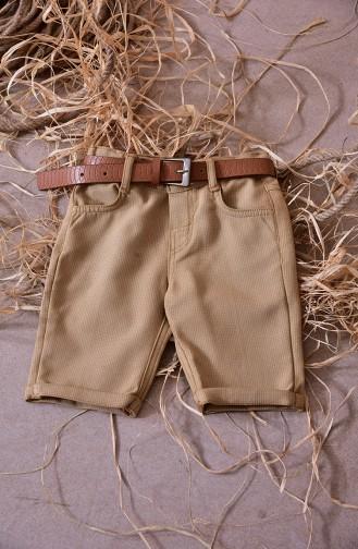 Tobacco Brown Kids Clothing 1809-01