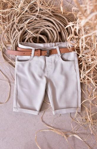 Kids Capri Pants 1809-02 Stone 1809-02