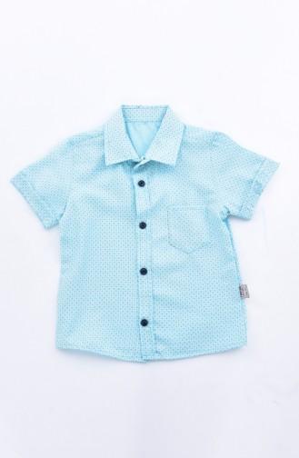 Kids Shirt 1814-01 Green 1814-01
